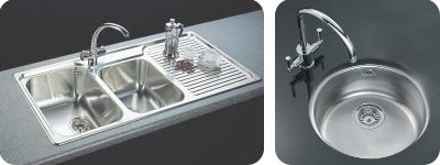 fitting a new kitchen sink simplifydiy diy and home improvement. beautiful ideas. Home Design Ideas