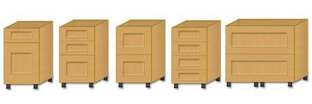 Kitchen base units kitchen bathroom cabinets news in china for 1000mm kitchen drawer unit